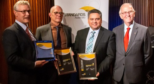 Standards Australia recognises outstanding commitment at annual awards