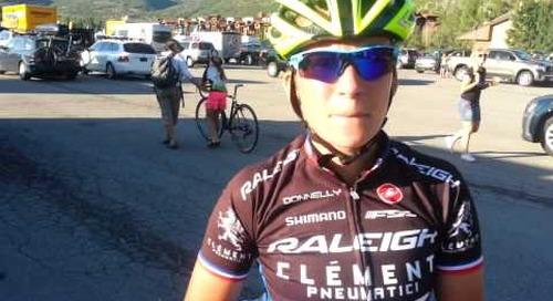 Caroline Mani Interview - Winning 2013 Raleigh Midsummer Night's Cyclocross Race