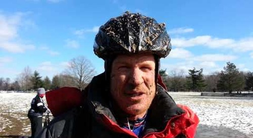 Don Myrah defends his 45-49 Masters Cyclocross World Championship title.