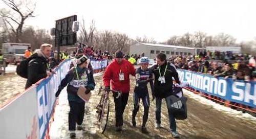A Surprise Podium Overwhelms Lucy Chainel-Lefevre