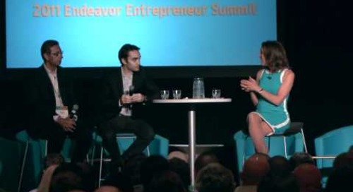 Entrepreneur Showcase (Part 2): Hernán Kazah & Khaled Ismail (2011 Endeavor Entrepreneur Summit)