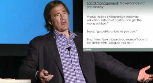 Bing Gordon's Keynote Address (2011 Endeavor Entrepreneur Summit)