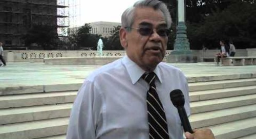 Reactions to SB 1070 Supreme Court Ruling: Eliseo Medina of SEIU