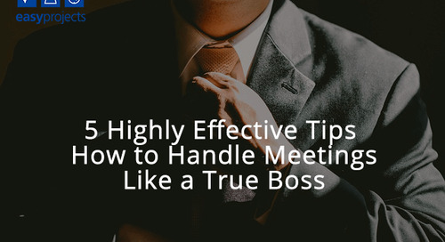 5 Highly Effective Tips How to Handle Meetings Like a True Boss