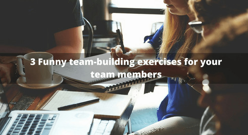 3 Funny team-building exercises for your team members