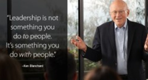 Servant Leadership: Ken Blanchard March 2018 Ignite Newsletter