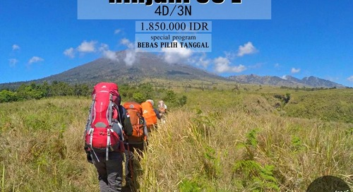 Comment on Open Trip – Pendakian Gunung Rinjani 3726 MDPL by ADEL