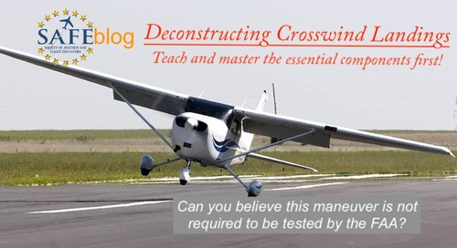 Teaching Crosswind Landings (at Altitude!)