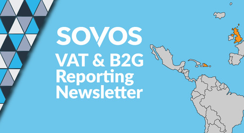 VAT & B2G Reporting Monthly Newsletter: May 2018