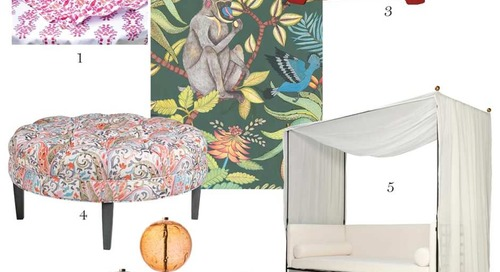 A Round Up of What's Hot in New England Showrooms