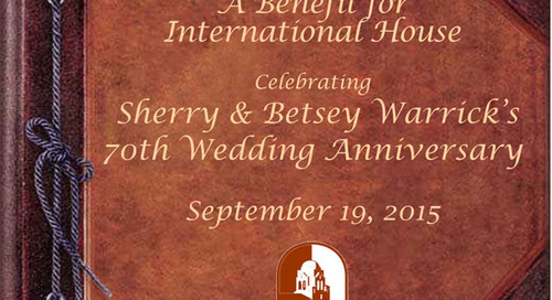 Sherry and Betsey Warrick's 70th Anniversary Dinner Benefit and Raffle
