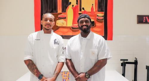 Celebrating Black History Month at I-House through Food