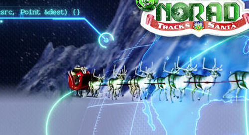 Cradlepoint solution helps NORAD track Santa's digital journey around the world