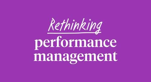 Rethinking performance management in Australia & New Zealand