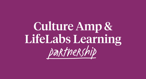Culture Amp & LifeLabs Learning partner to supercharge manager development