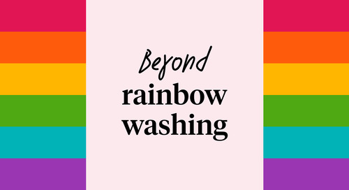 Beyond rainbow washing: Supporting LGBTQ* at work and beyond