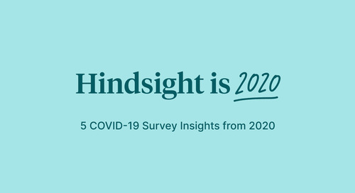 Hindsight is 2020: 5 insights from Culture Amp's COVID-19 survey