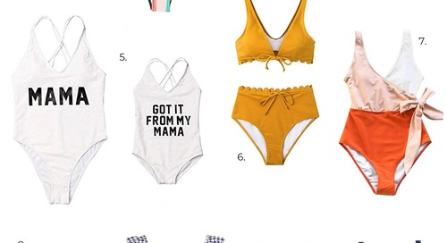 Our Favorite Budget-Friendly Swimsuits (For Kids, Too!)