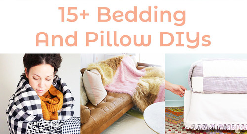 Pillow Talk: Our Favorite Bedding and Pillow DIYs