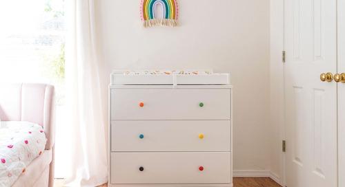 Rainbow Nursery Before + After