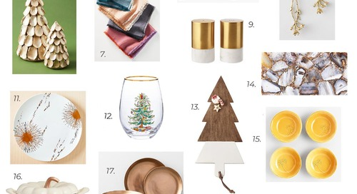 Holiday Dinner Party Wishlist