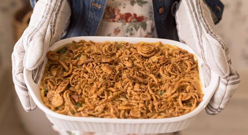 Green Bean Macaroni Casserole