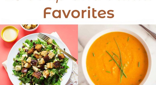 25 Soup And Salad Favorites