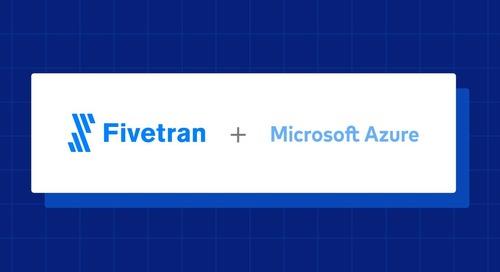 Fivetran Now Deploys on Microsoft Azure