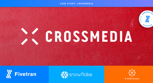 Crossmedia Delivers Advanced Data Products With Powered by Fivetran