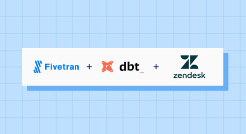 Announcing the Fivetran dbt Package for Zendesk Support