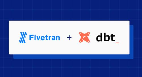 Introducing Fivetran dbt Transformations