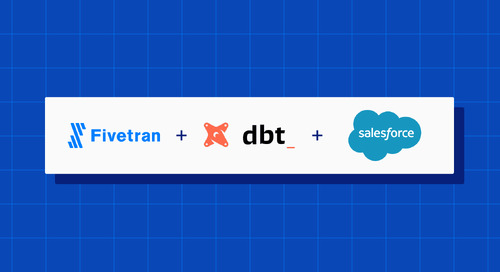 Announcing the Fivetran dbt Package for Salesforce