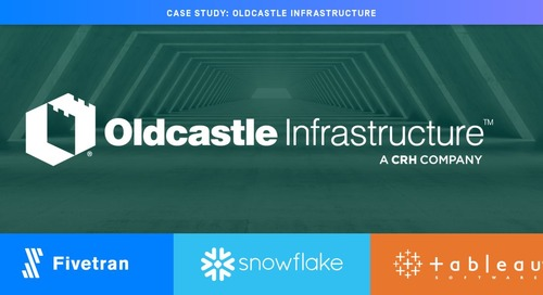 Oldcastle Infrastructure Sees $25M ROI With The Modern Data Stack