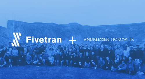 Fivetran Raises $44 Million Series B Led by Andreessen Horowitz