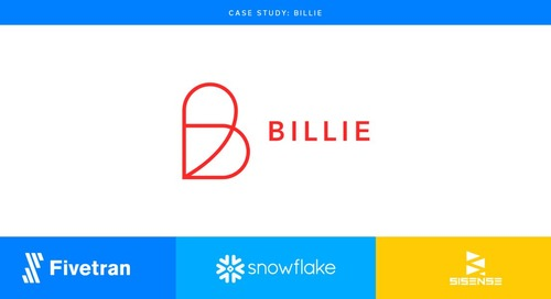 Billie's Need for Speed and Ease-of-Use Met by Fivetran