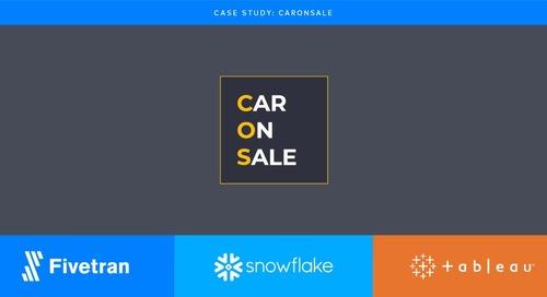 Fivetran accelerates online auto trading for CarOnSale