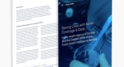 Saving Lives with News Coverage & Data: Public Health Agency of Canada and the Creation of the GPHIN