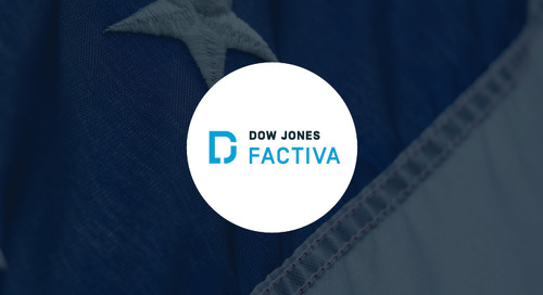 Pinpointing Insights on the 2020 U.S. Presidential Election with Factiva