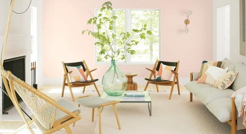 Your Walls Need to Be Introduced to Benjamin Moore's Color of the Year