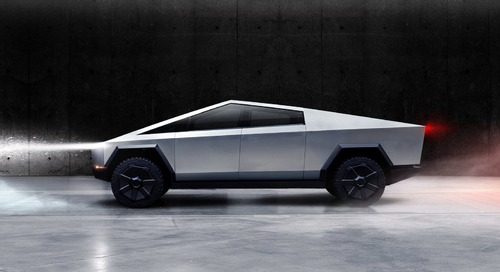 Tesla's Cybertruck Is a Retro-Future Space Brick—and I'm Down With That