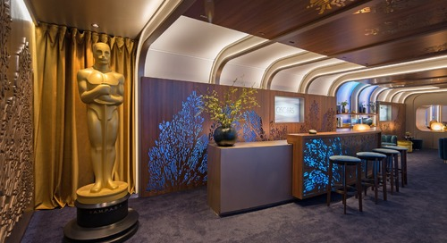 Rolex Creates a Deep-Sea Experience in This Year's Oscars Greenroom