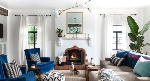 Before & After: A Creative Couple Give Their Spanish Revival Home a Punchy Upgrade