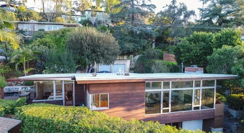Own a Light-Filled L.A. Midcentury Home With Treehouse Vibes For $1.2M
