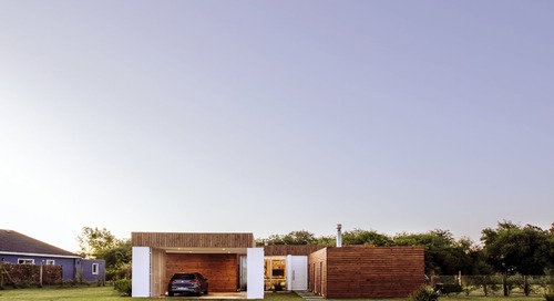 WS house, a single-family home on the outskirts of Montevideo.