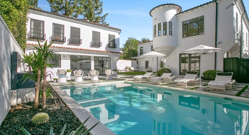 Beck's Former Mediterranean-Style Retreat Lists For $8M