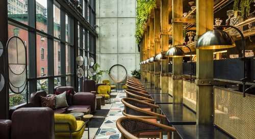 This Micro-Room Hotel in New York's Flower Market Channels a Decadent Garden of Eden