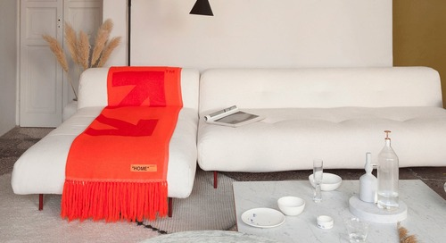 Rockstar Designer Virgil Abloh Unveils the First Off-White Home Collection