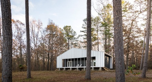 An Architect Builds a Tiny Cabin For His Aunt and Uncle on Beloved Family Land in Mississippi