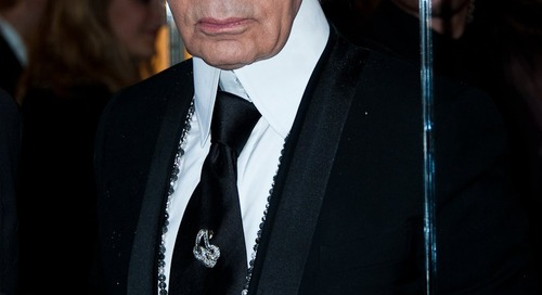Style Icon Karl Lagerfeld Dies at Age 85