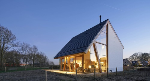 This Half-Glass Home in the Netherlands Sets the Stage For Garden Living